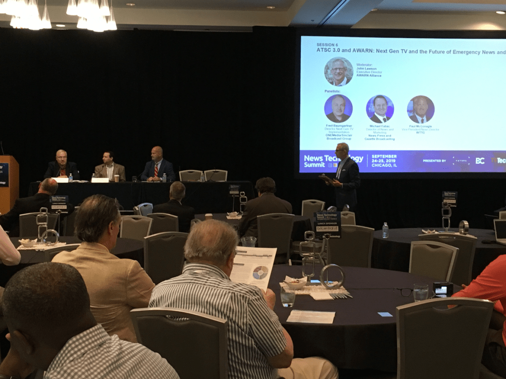 AWARN featured at News Technology Summit, Sept 25, 2019
